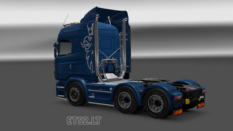 Scania R Series Modified-2