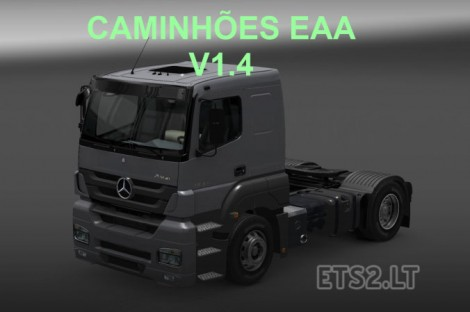 Brazilian Trucks Pack (2)