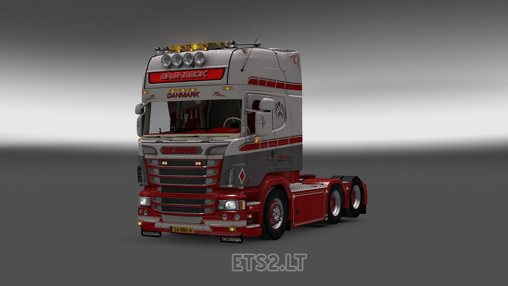 Ets2 scania r560 v8 interior youtube - Scania Ets2 Gr