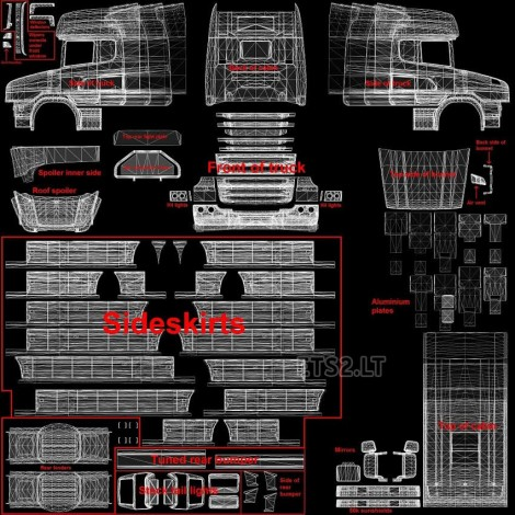 scania-t-template