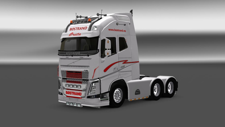 Volvo fh 2013 bostrand skin ets 2 mods euro truck