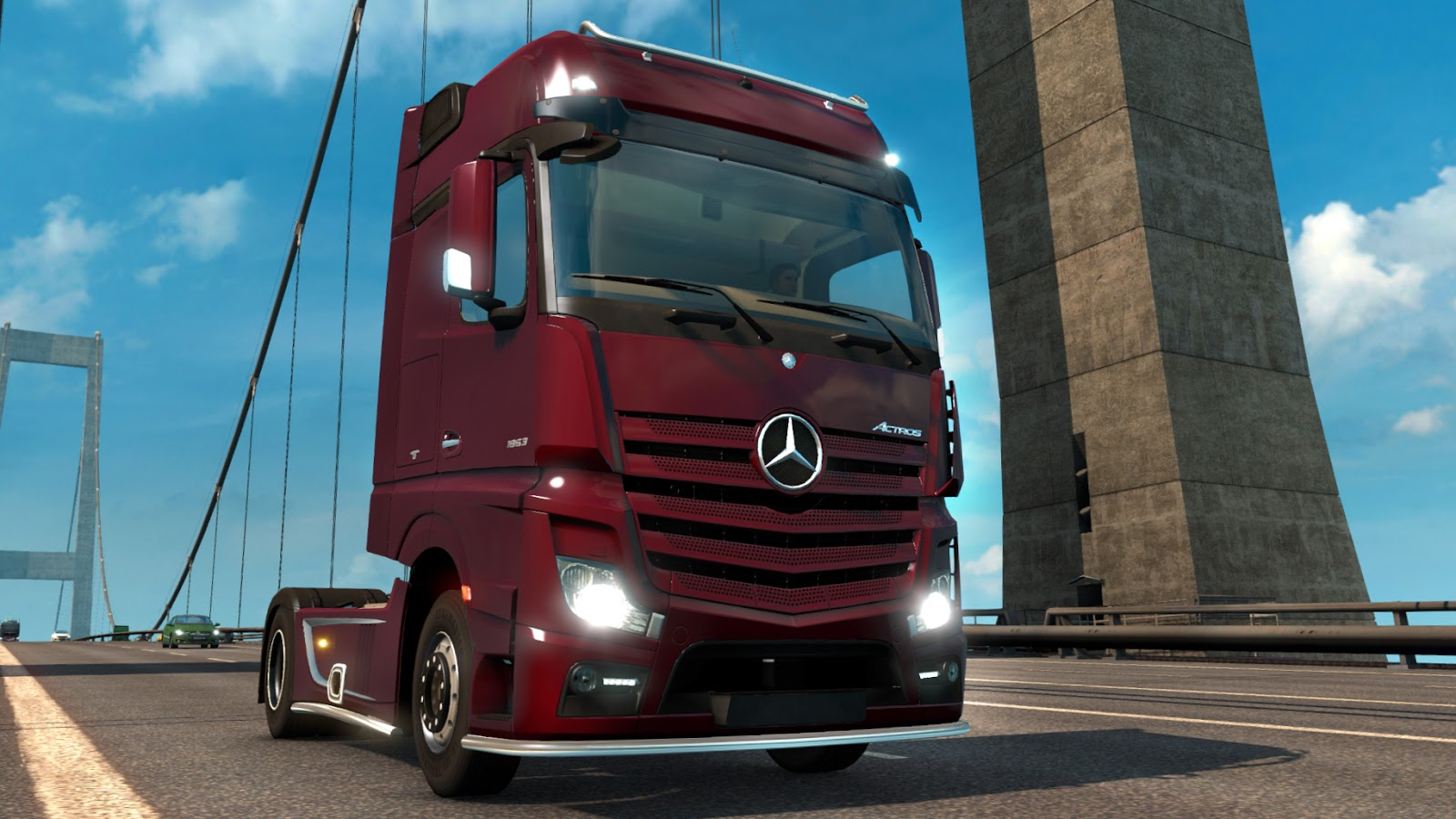 Old Car Wallpaper Download Euro Truck Simulator 2 Patch 1 18 Ets2 Mods