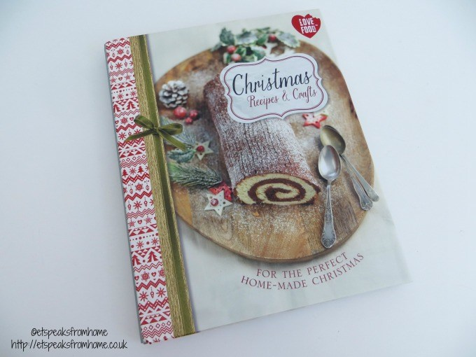 christmas recipes & craft book