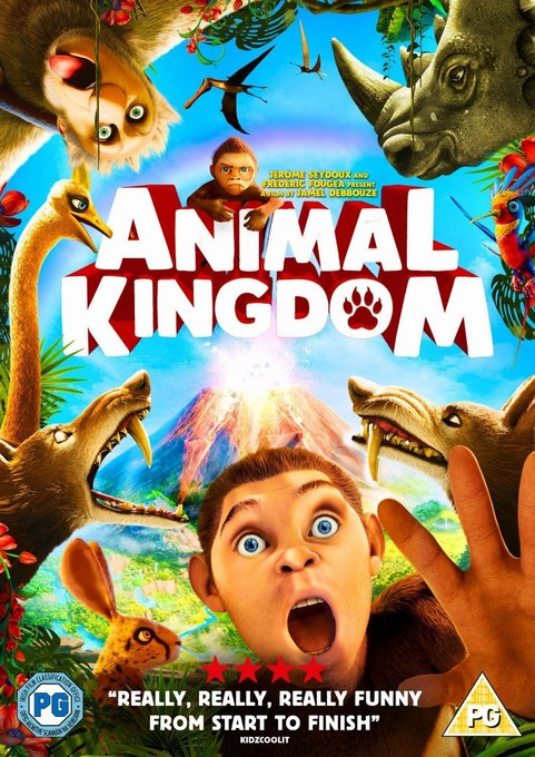 Animal Kingdom Lets Go Ape DVD