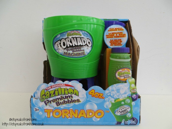 gazillion tornado bubble blower review