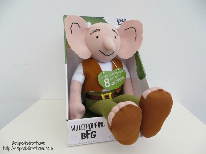 whizzpopping BFG soft toy review