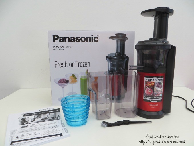 Panasonic Slow Juicer MJ-L500 Review - ET Speaks From Home