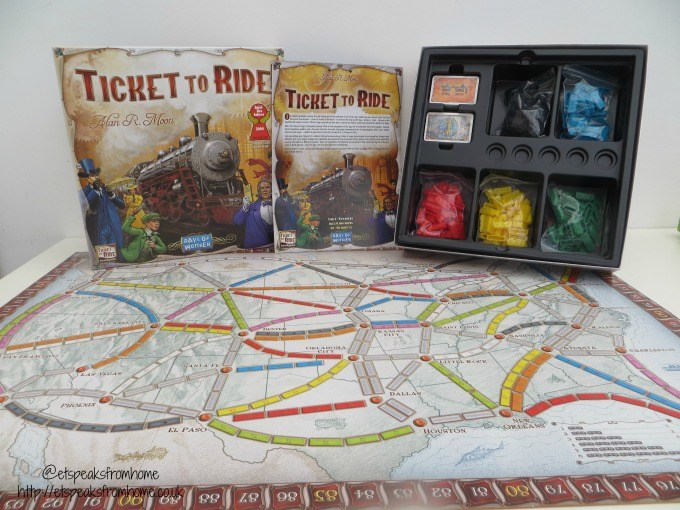 how to play ticket to ride board game