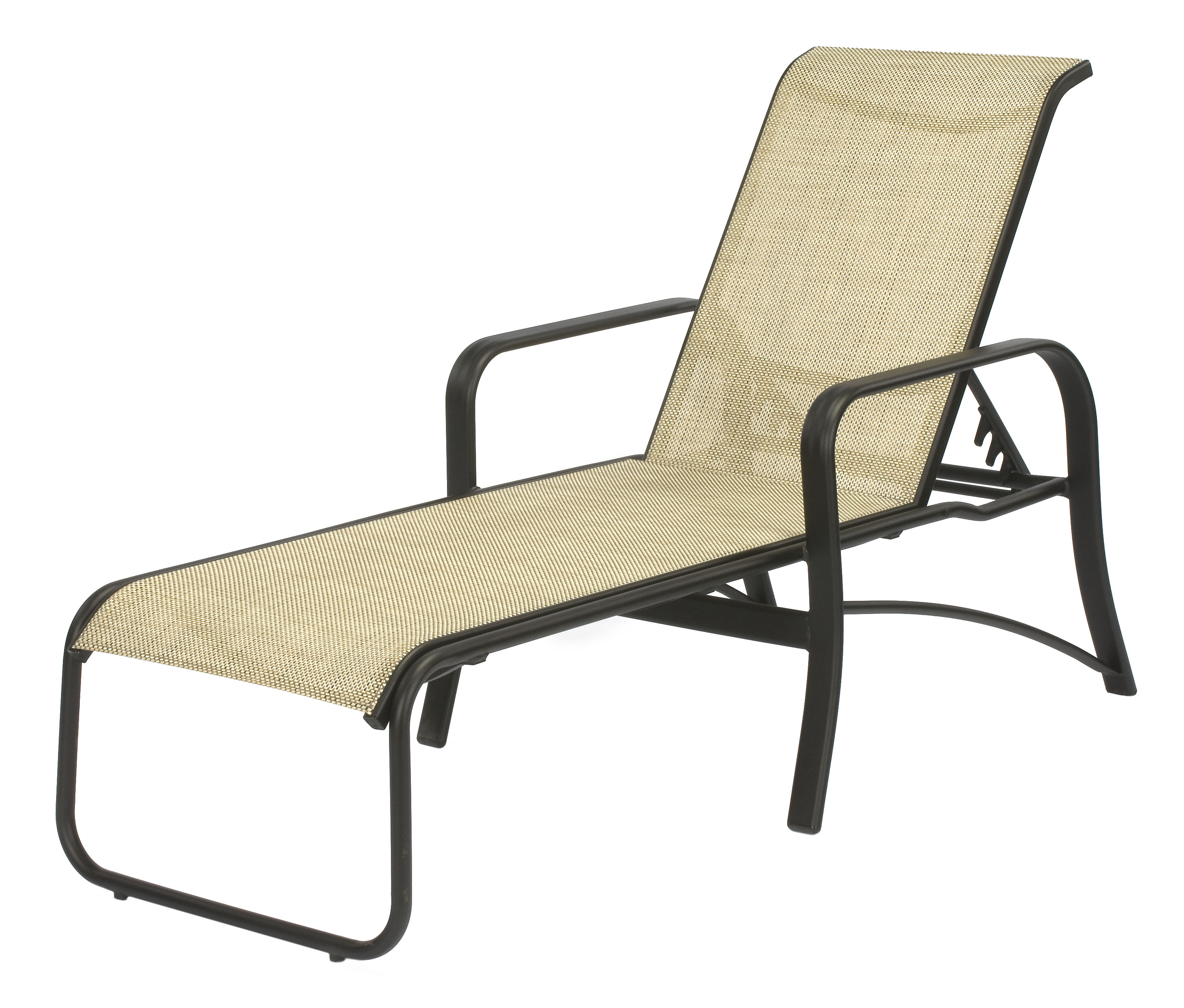 Pool Chaise Lounge Chairs 16 In Seat Montego Bay Aluminum Sling Patio Chaise Lounge Chair