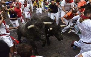 Man dies, two others gored in Spanish bull-runs