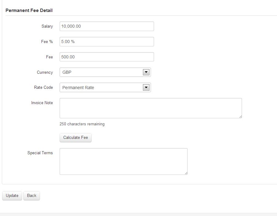 How do I generate a Sales invoice for a Permanent Assignment? \u2013 etz