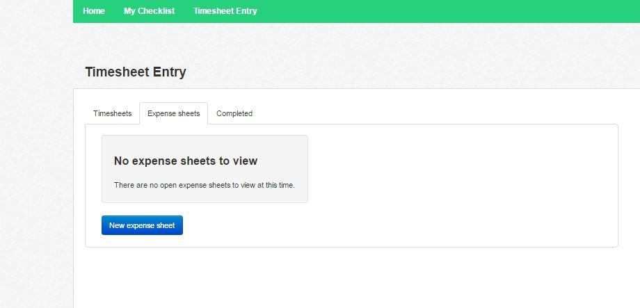 How a Candidate Submits an Expense Sheet \u2013 etz Technologies Ltd - expense sheet