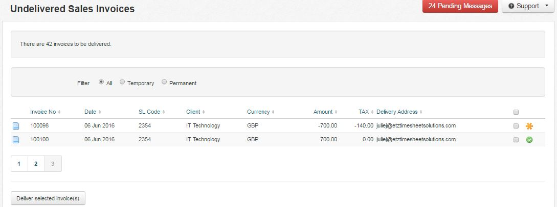 How do I credit VAT on a sales invoice? \u2013 etz Technologies Ltd - sales invoices