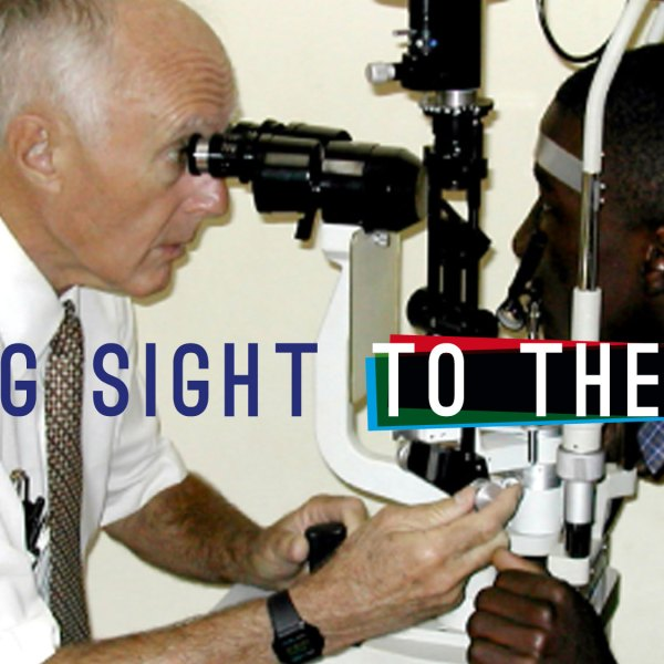 Giving sight to the blind