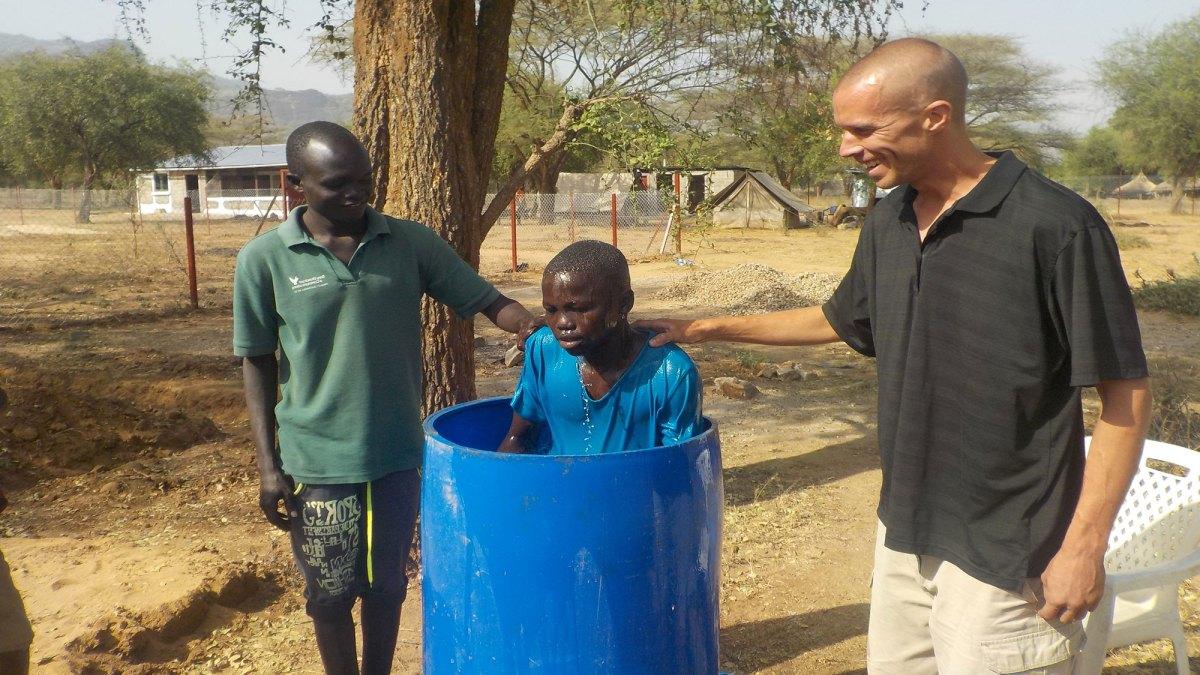 Barrel Baptisms!