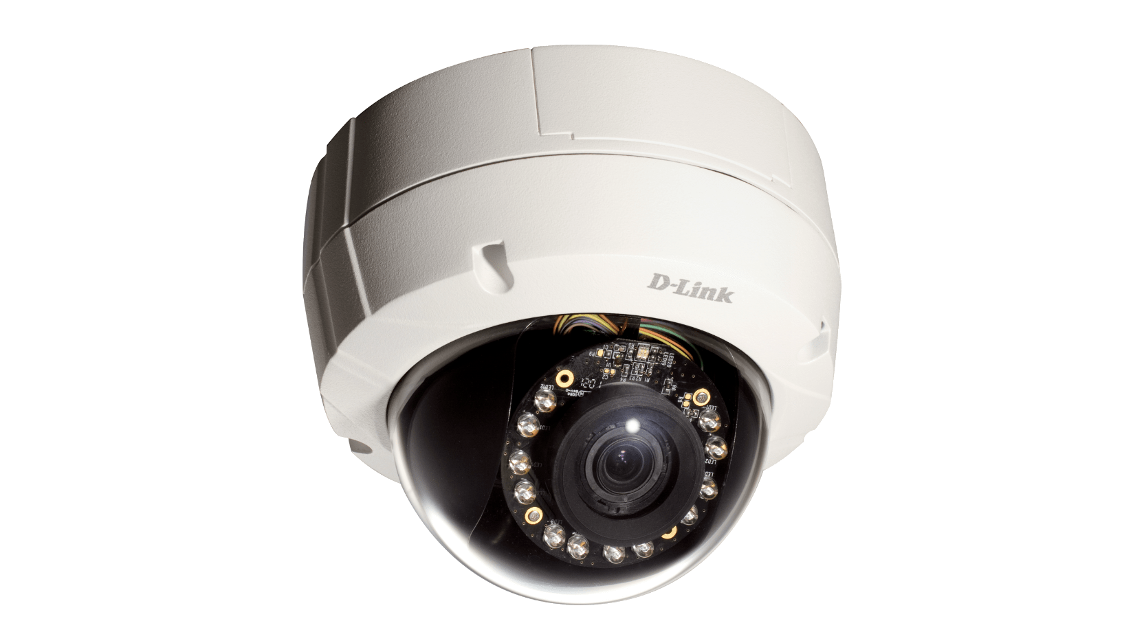 Camera De Surveillance Exterieur Discrete Dcs 6511 Outdoor Hd Poe Day Night Vandal Resistant Fixed Dome