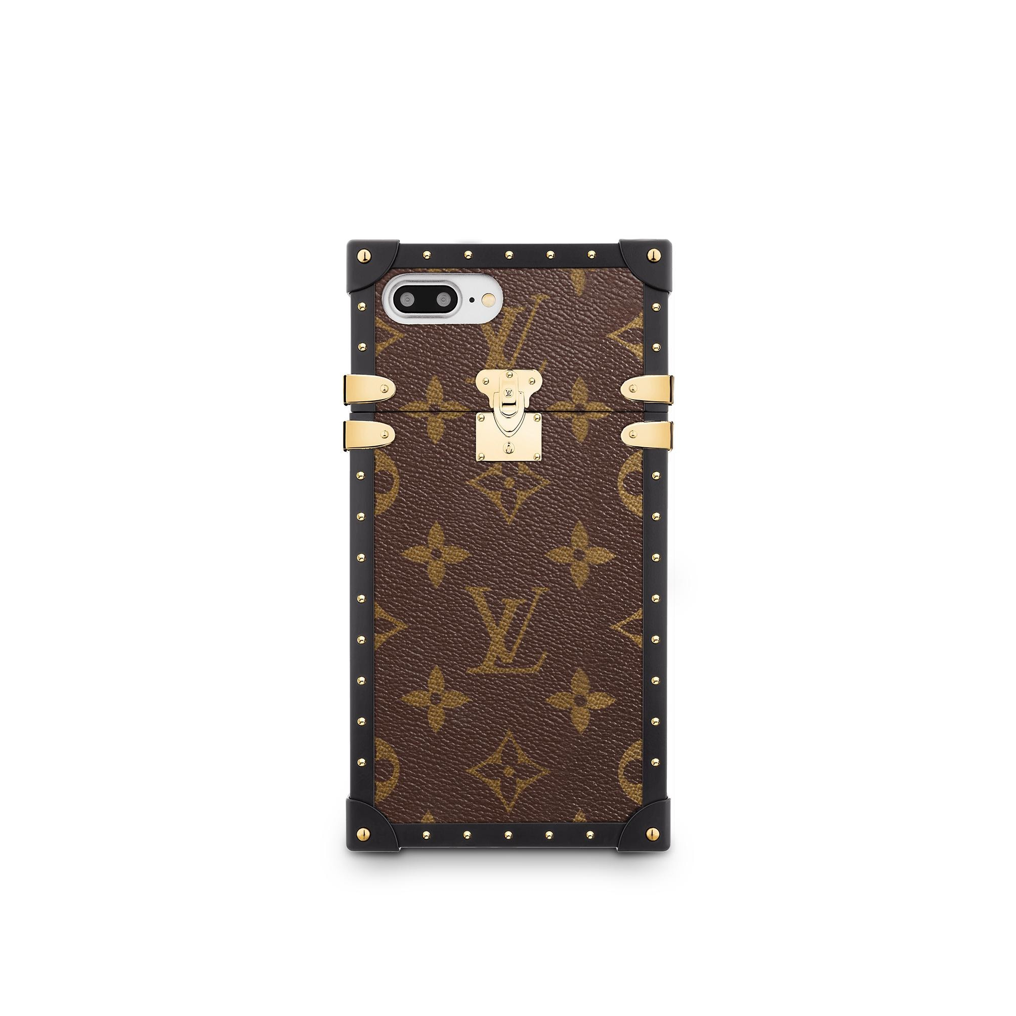 Eye Trunk For Iphone 7 Plus Monogram Canvas Small
