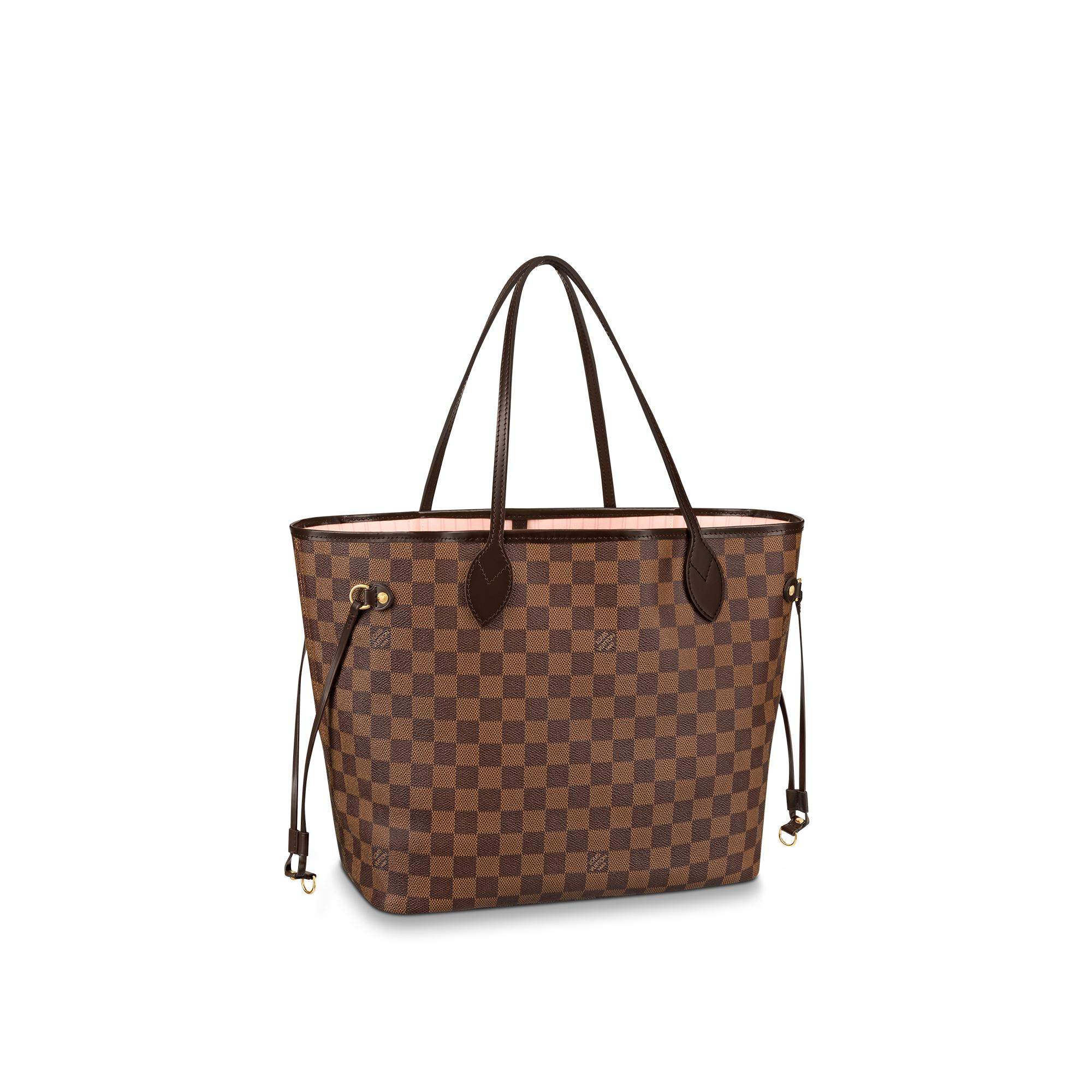 Louis Vuitton Tivoli Vs Palermo Neverfull Mm Damier Ebene Canvas Handbags Louis Vuitton