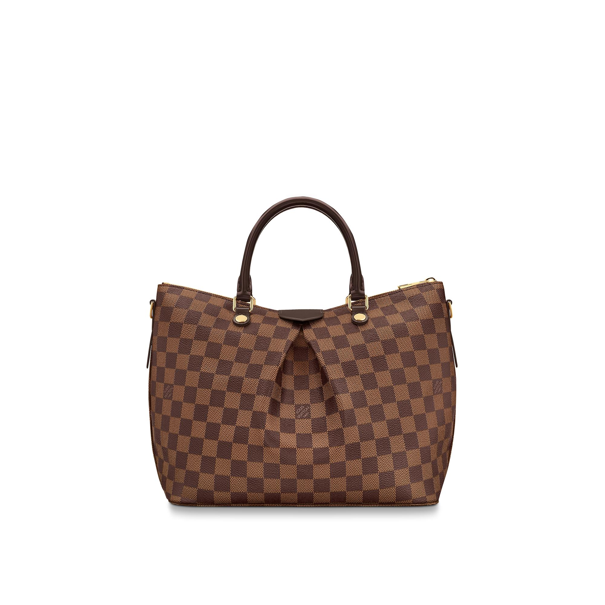 Louis Vuitton Tivoli Vs Palermo Siena Mm Damier Ebene Canvas Handbags Louis Vuitton