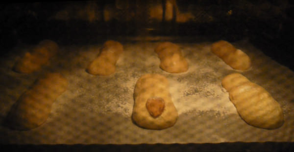 Bake at 300 degrees F (150C) for about 18 min.