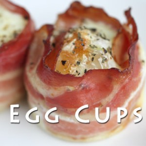Bacon Wrapped Egg Cups Recipe
