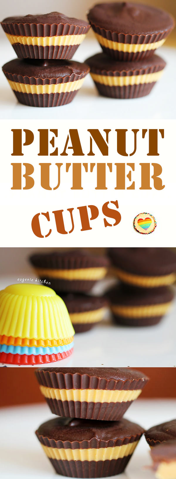 No-Bake Reese's Peanut Butter Chocolate Cups Recipe. Scrumptious! Ready in 30 minutes with everyday ingredients. - Eugenie Kitchen
