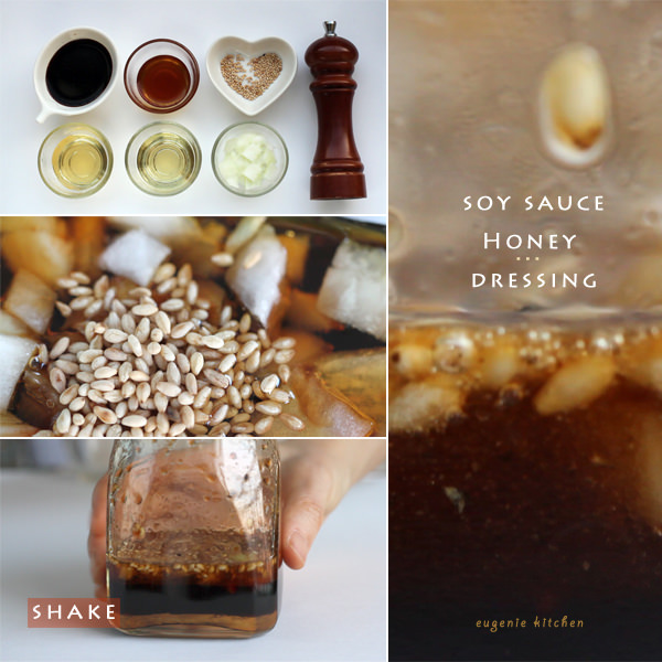 Soy Sauce Honey Dressing Recipe
