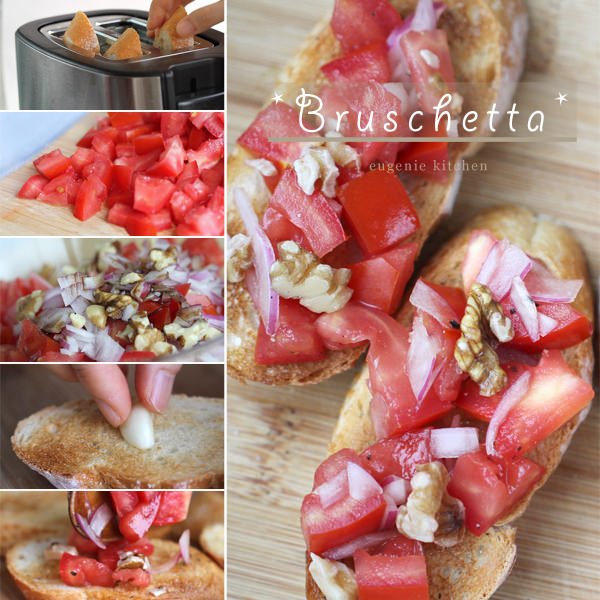 Easy Tomato Bruschetta Recipe