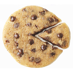 1-Minute Microwave Chocolate Chip Cookie