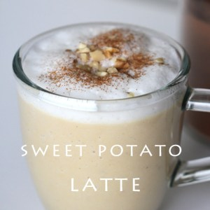 Sweet Potato Latte Recipe