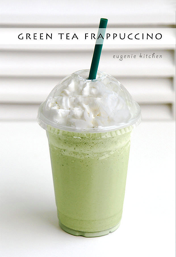 Green Tea Frappuccino [Copycat Recipe]