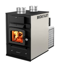 Eurafrican   Drolet Tundra wood furnace with blower