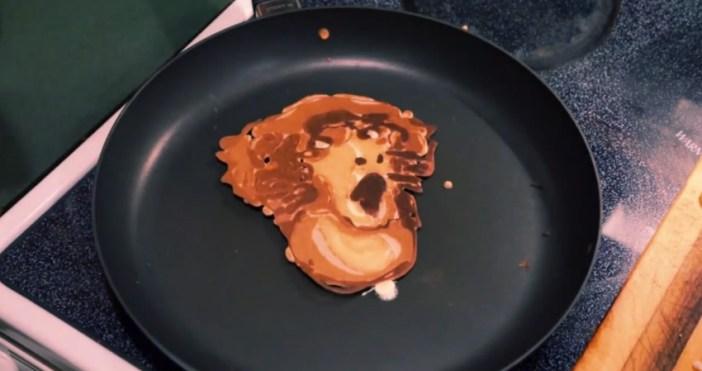 フクロテナガザルのパンケーキ