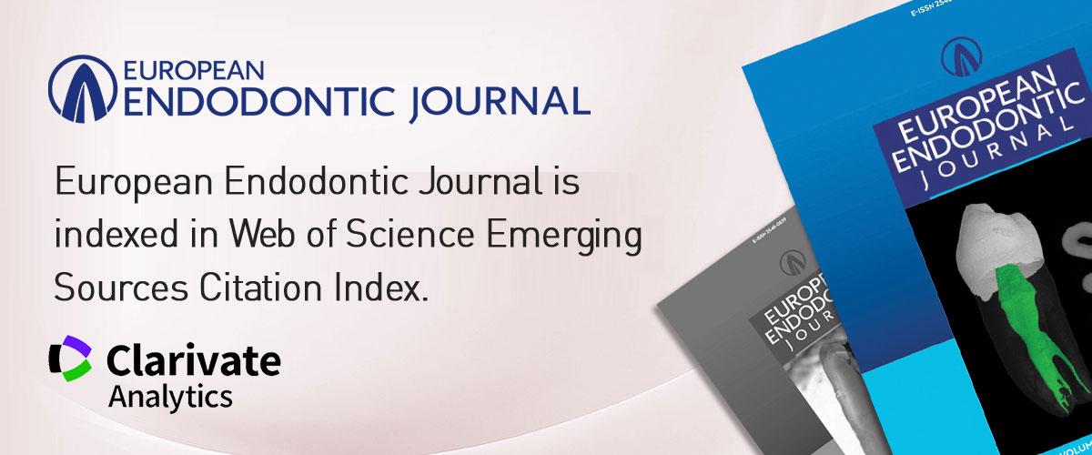European Endodontic Journal - running title scientific paper