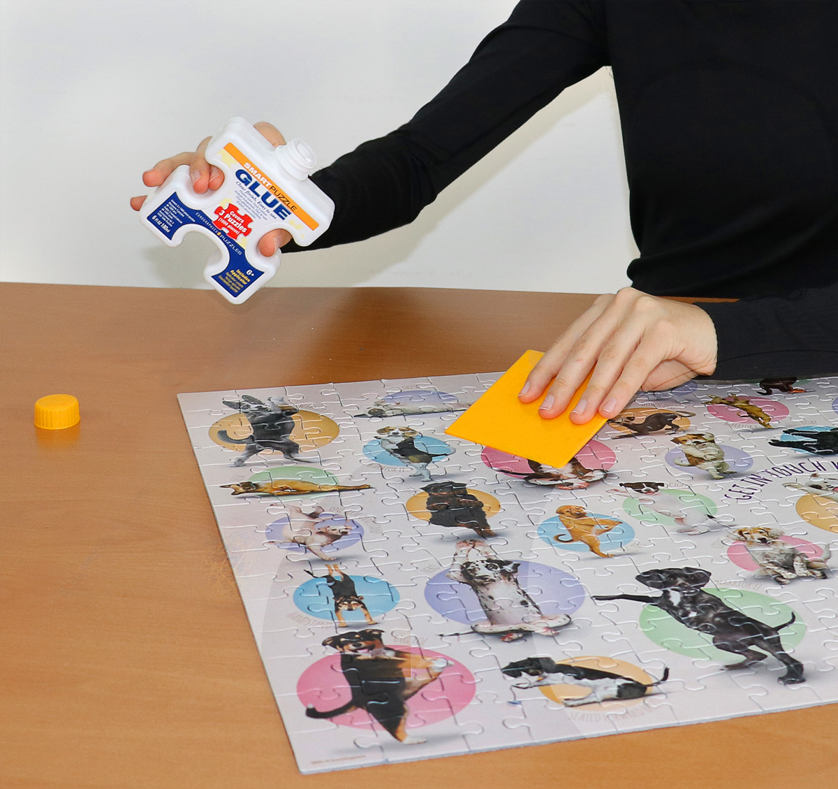 Large Frame For Poster Smart Puzzle Glue At Eurographics