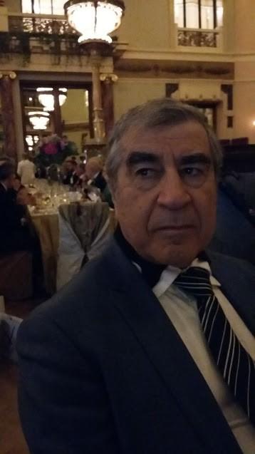 Президент НП «Европейская Инвестиционная Финансовая Группа» Арустамян Эрнест Санатрукович на гала-ужине в честь 100-летия РБТП.