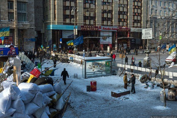 07 Anatomy of Maidan. Virtual tour of the protesters grounds