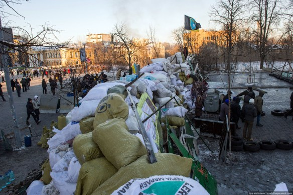21 Anatomy of Maidan. Virtual tour of the protesters grounds