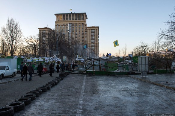 24 Anatomy of Maidan. Virtual tour of the protesters grounds