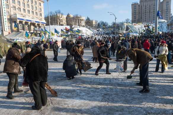 68 Anatomy of Maidan. Virtual tour of the protesters grounds