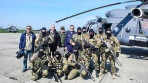 The first drill of the Russian Special Operation Forces (SOF) units