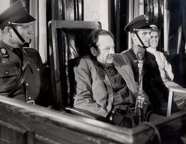 Erich Koch on trial for war crimes