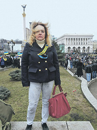 Olga Kurnosova, a leader of the Russian political refugees in Kyiv (Image: ng.ru)