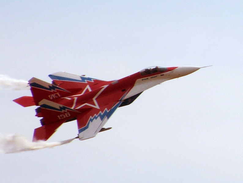 MiG-29M-OVT (Image by Guinnog at English Wikipedia)