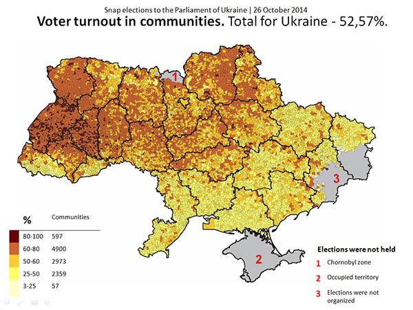 The New Political Landscape Of Ukraine Euromaidan Press - Ukraine political map