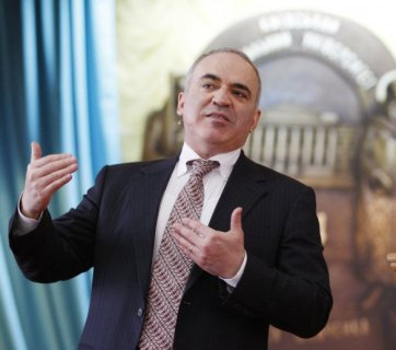 Russian opposition politician, world chess champion Garry Kasparov (Image: UNIAN)