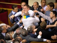 A fistfight in the Verkhovna Rada. We don't count them anymore.