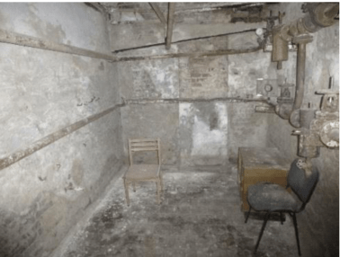 Torture room in Slavyansk