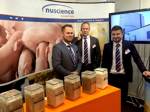 Nuscience Cehave Korm at the Agro Animal Show 2016 in Kyiv, Ukraine.