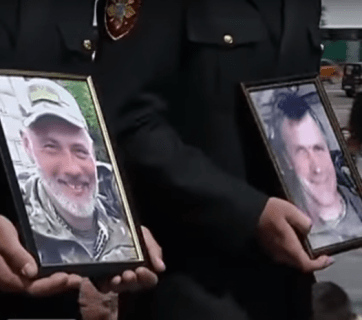 "Mourners on Maidan bid farewell to ""Uncle Kolya"" and ""Raven"""